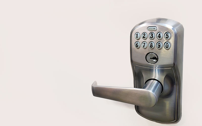 Various Door Lock Options- Key Pad