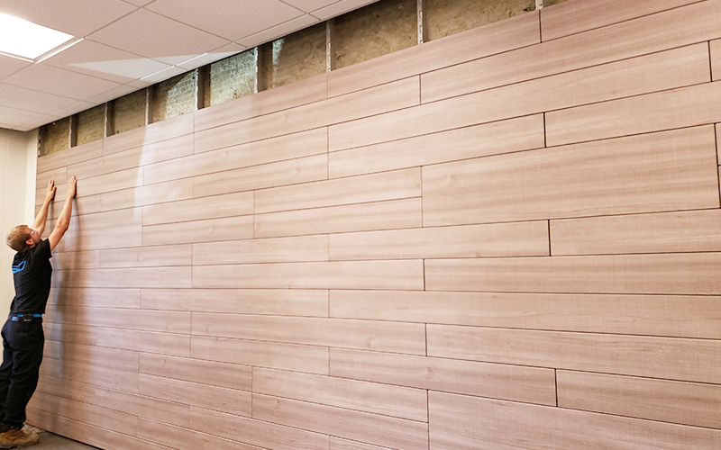 McCain Walls Architectural Panels Planks Install