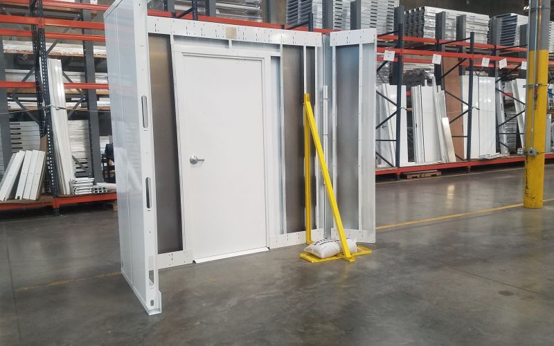 Demo Wall Stand
